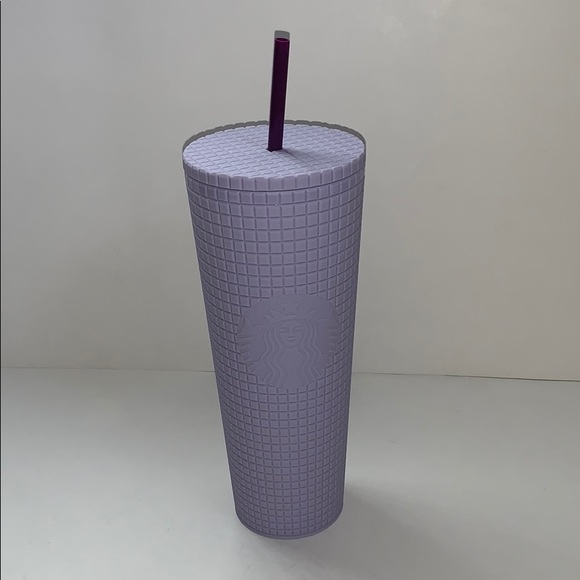 NEW 2021 starbucks purple studded cold cup